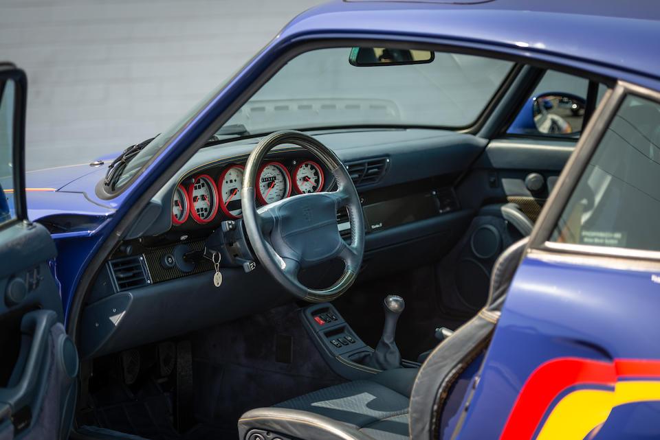 <b>1997 Porsche 911 Turbo S</b><br />VIN. WP0AG2993V5376048  <br />Engine no. 61V02552