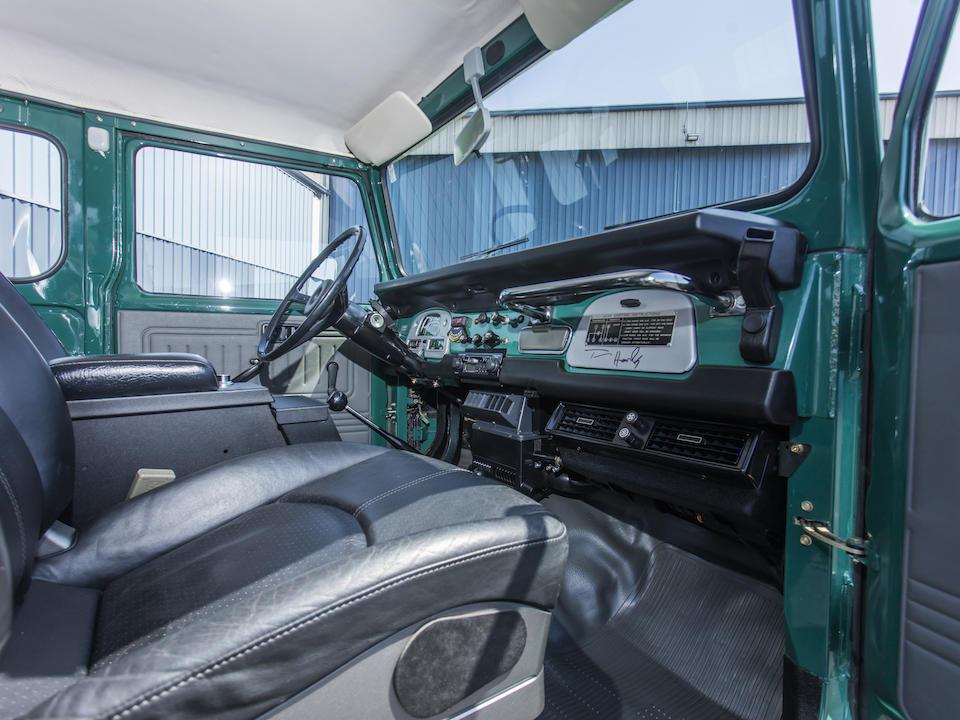 1980 Toyota FJ40 Land Cruiser Hardtop <br />  Chassis no. FJ40322492