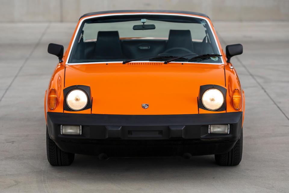 1975 Porsche 914 2.0 <br /> Chassis no. 4752905155<br /> Engine no. EC043209