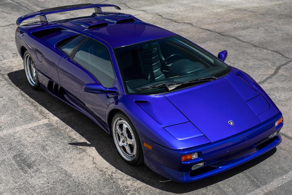 1998 Lamborghini Diablo SV Twin Turbo 'Monterey Edition'<br /> VIN. ZA9DU21B4WLA12007