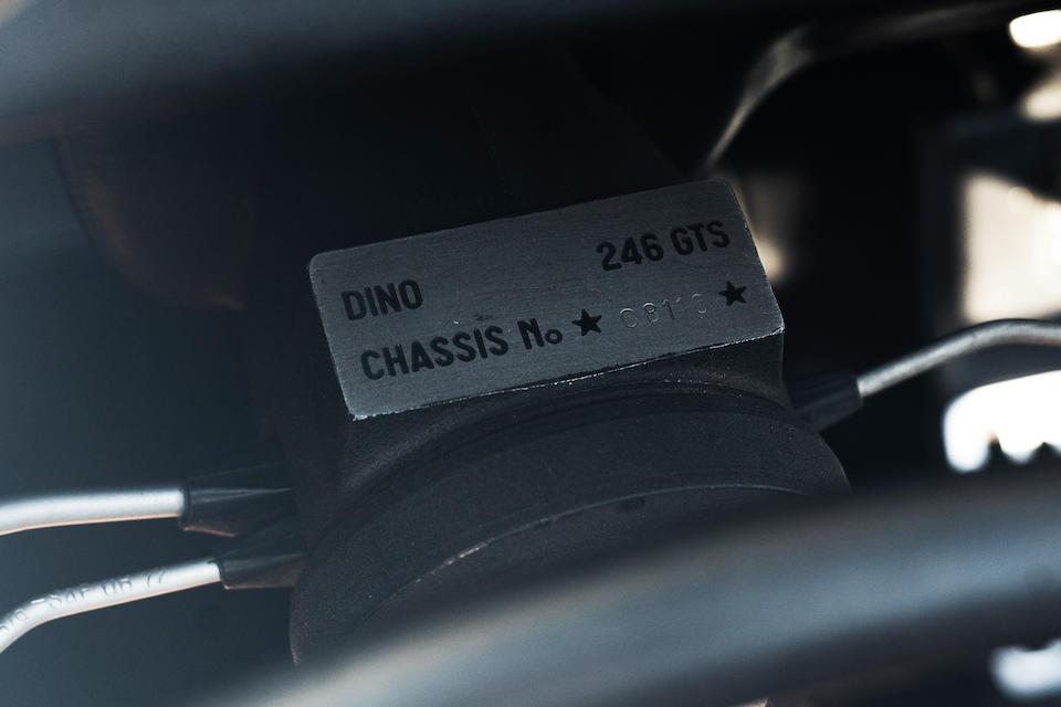 1974 Ferrari  Dino 246 GTS <br /> Chassis no. 08116