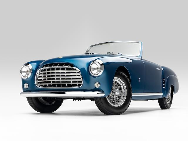 1952 Ferrari 212 Europa Cabriolet <br />  Chassis no. 0233 EU <br />Engine no. 0233 EU