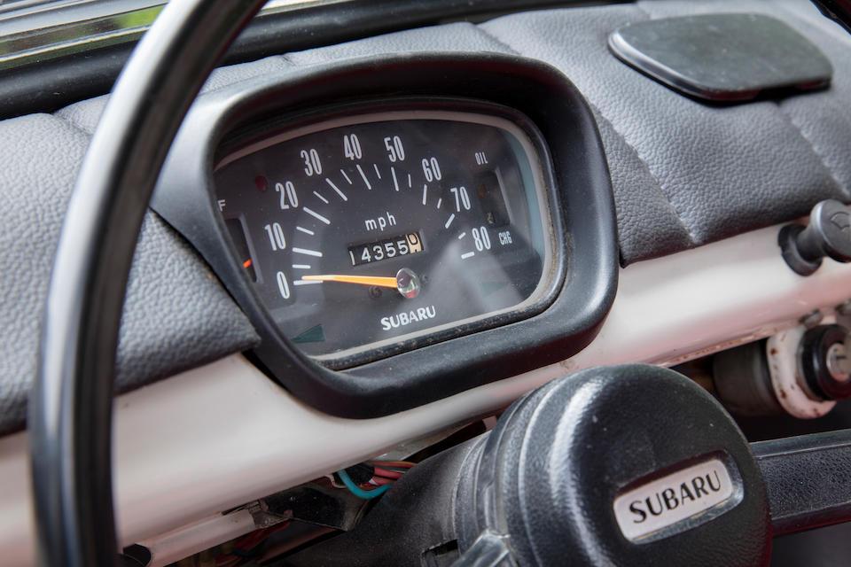 1970 Subaru 360 Deluxe Sedan <br /> Chassis no. K111L10014