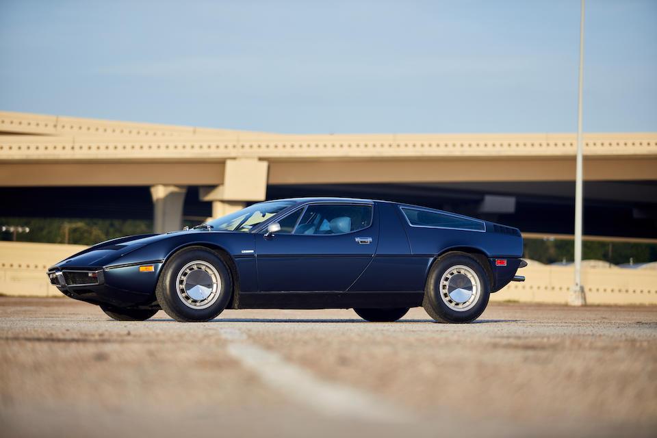 1975 Maserati Bora 4.9  <br /> Chassis no. AM117/US*916*<br /> Engine no. AM107/11/49*916*
