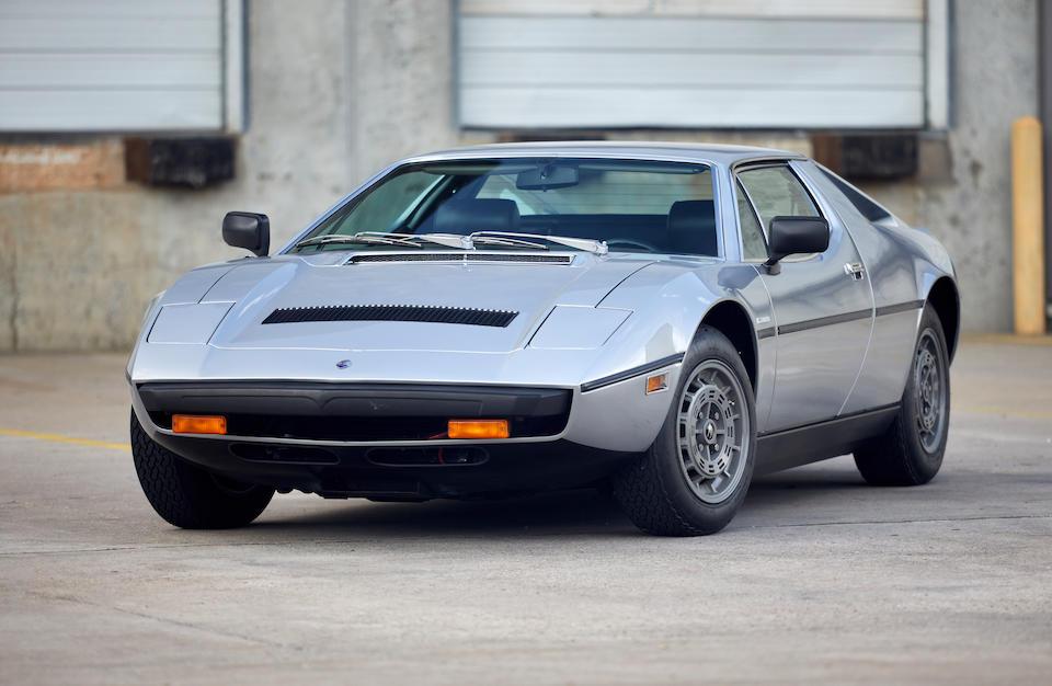 1977 Maserati Merak SS<br />  Chassis no. AM122US2210<br />Engine no. 114.63.30.610.135