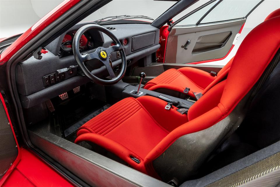 1992 Ferrari  F40  <br />VIN. ZFFMN34A7N0093065 <br />Engine no. 30266