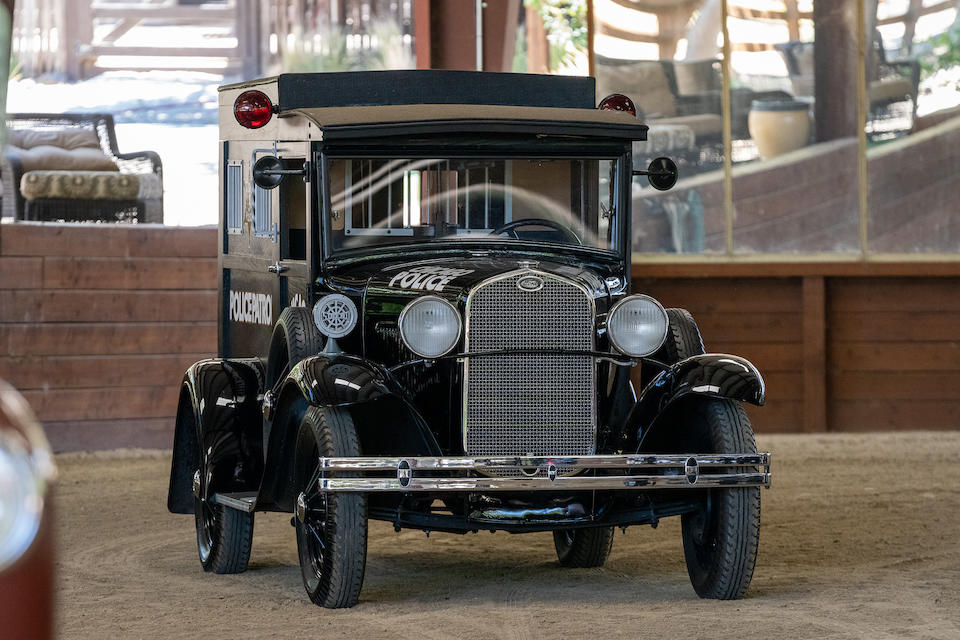 1931 Ford Model A 'Paddy Wagon' <br /> Chassis no. A3445396