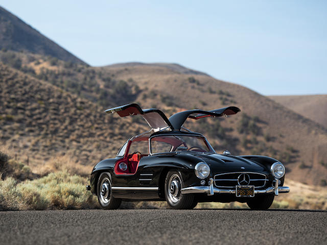 1955 Mercedes-Benz 300SL Gullwing Coupe <br /> Chassis no. 198.040.5500801<br /> Engine no. 198980.5500828