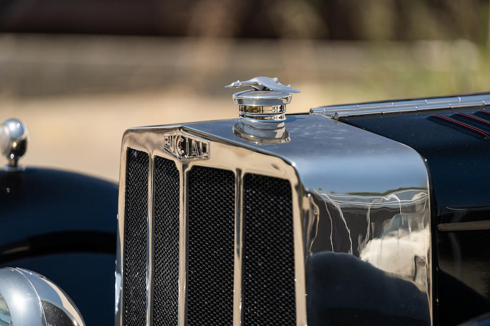 1930 Bucciali TAV 30 LA MARIE TORP&#201;DO SPORT TYPE CANNES<br />  Chassis no. 101 <br />Engine no. 1147