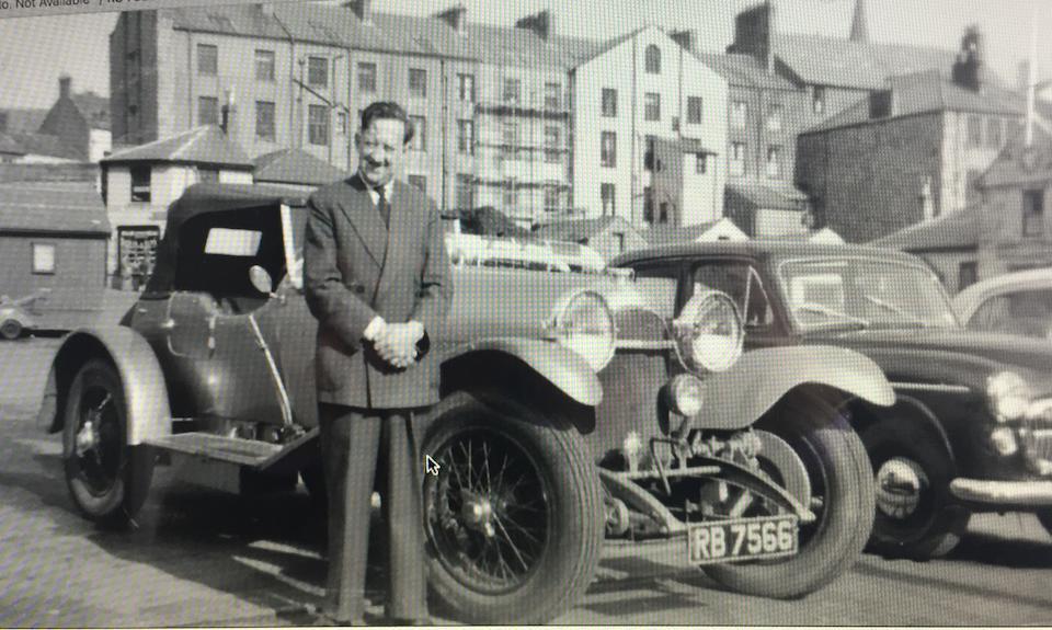 1925 Bentley 3-Liter Speed Model Tourer<br /> Chassis no. 921 <br />Engine no. 917