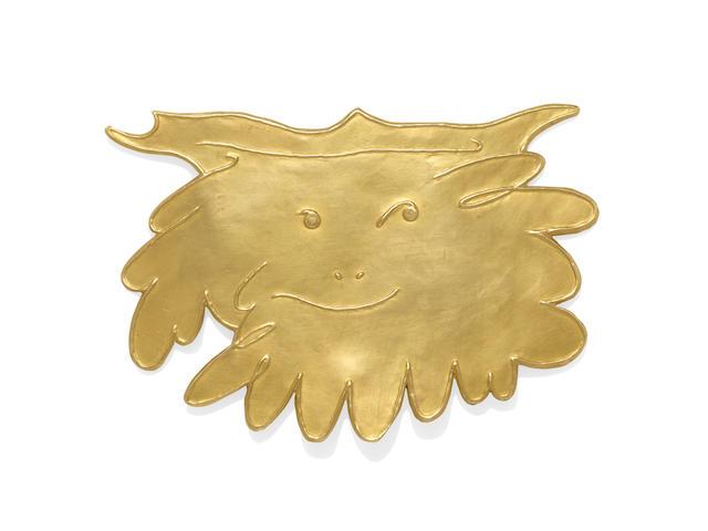 """A GOLD """"GRAND FAUNE"""" PENDANT, PABLO PICASSO"""