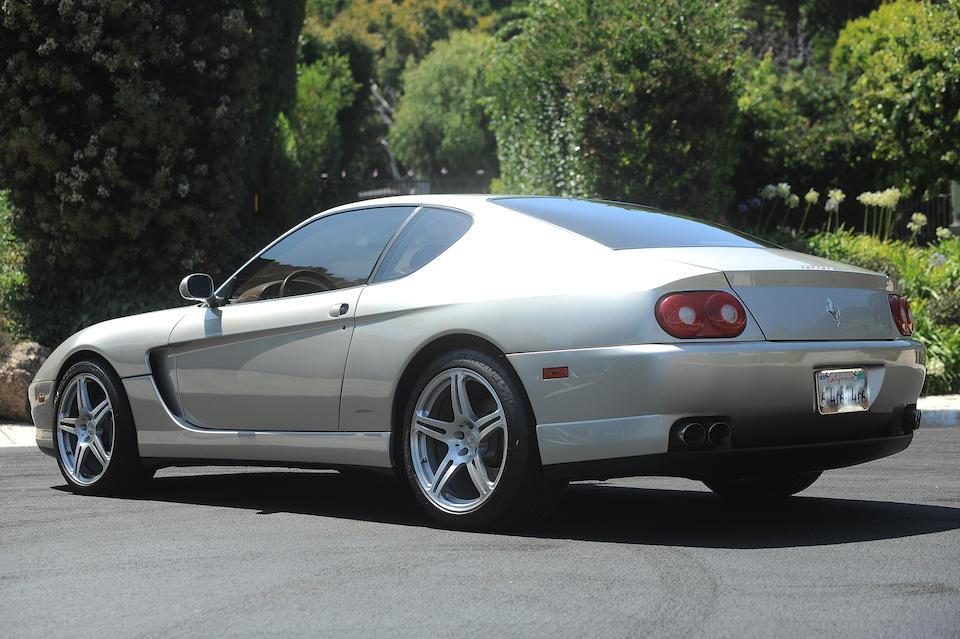 2001 Ferrari  456M GT <br />VIN. ZFFWL44A810122507