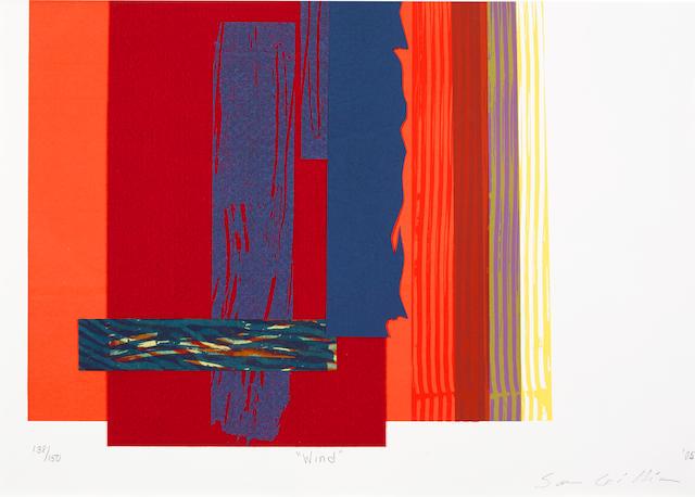 Sam Gilliam (born 1933); Wind;