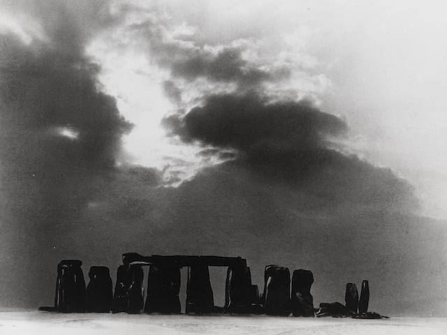 Bill Brandt (1904-1983); Stonehenge under Snow;
