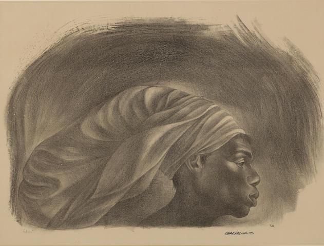 Charles Wilbert White (1918-1979); Juba;