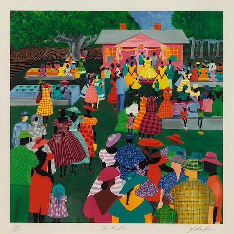Jonathan Green (born 1955); The Reception;