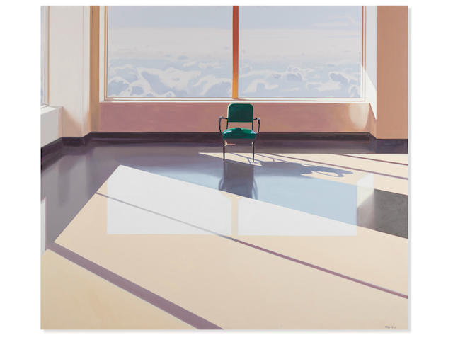 JOHN REGISTER (1936-1996) Waiting Room for the Beyond, 1983