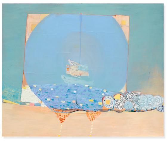 AMY SILLMAN (B. 1966) Passage, 1999-2000