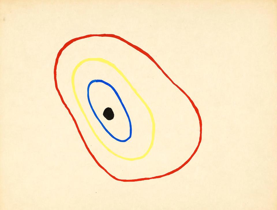 MIRÓ, JOAN. 1893-1983.  HIRTZ, LISE [DEHARME]. 1898-1979. Il etait une petite pie.  Paris: Éditions Jeanne Bucher, 1928.