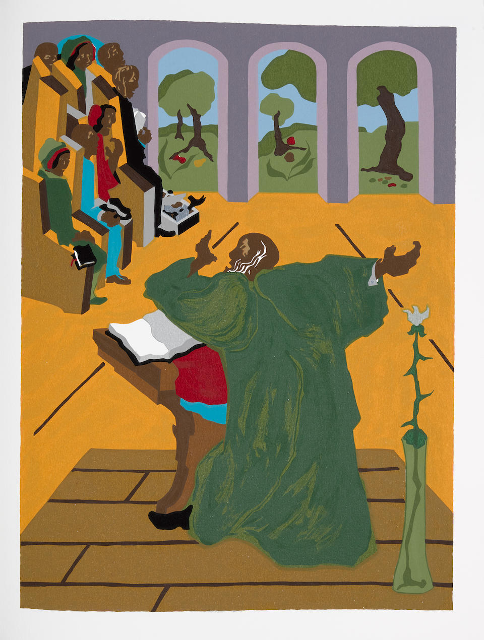 Jacob Lawrence (1917-2000); The First Book of Moses Called Genesis;