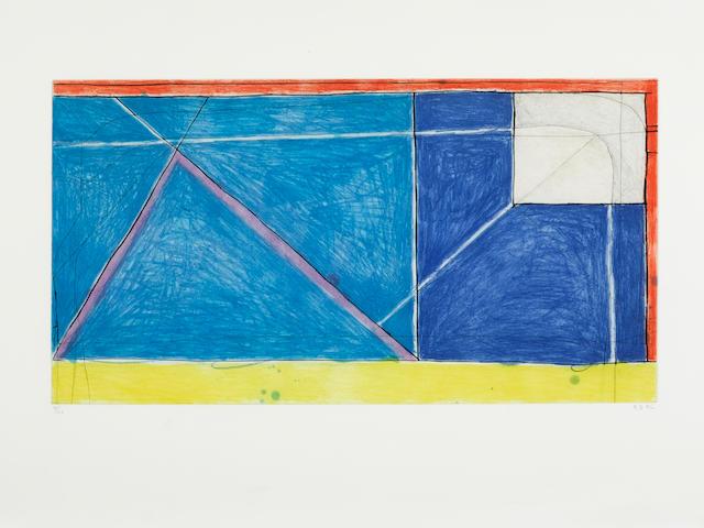 Richard Diebenkorn (1922-1993); Red-Yellow-Blue;