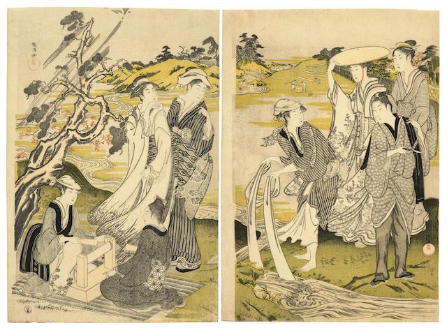 KUBO SHUNMAN (1757-1820)  Edo period (1615-1868), 1785-1789