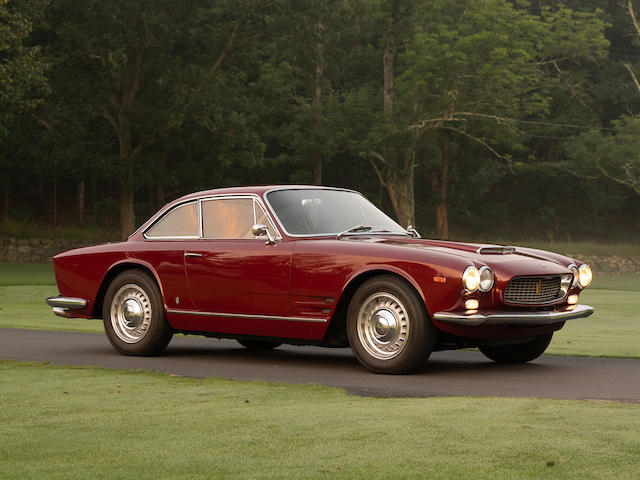<b>1965 Maserati Sebring I Coupe  </b><br />Chassis no. AM101*02053 <br />Engine no. 2256 (see catalog)