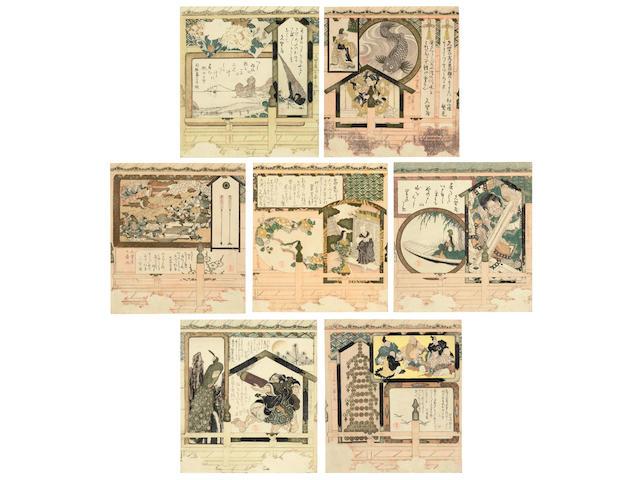KUBO SHUNMAN (1757-1820)  Edo period (1615-1868), 1810s