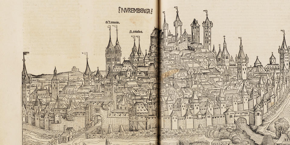 SCHEDEL, HARTMANN. 1440-1514. Liber chronicarum. Nuremberg: Anton Koberger for Sebald Schreyer and Sebastian Kammermeister, 12th July 1493.