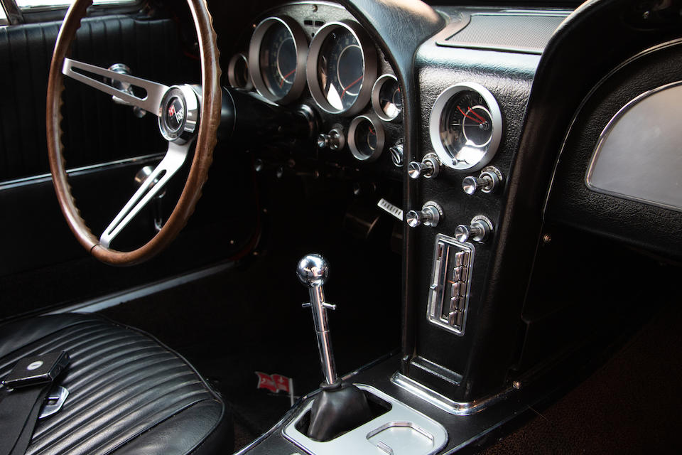 <b>1964 Chevrolet Corvette 327/365 Coupe Race Car  </b><br />Chassis no. 40837S100315 <br />Engine no. (See catalog)