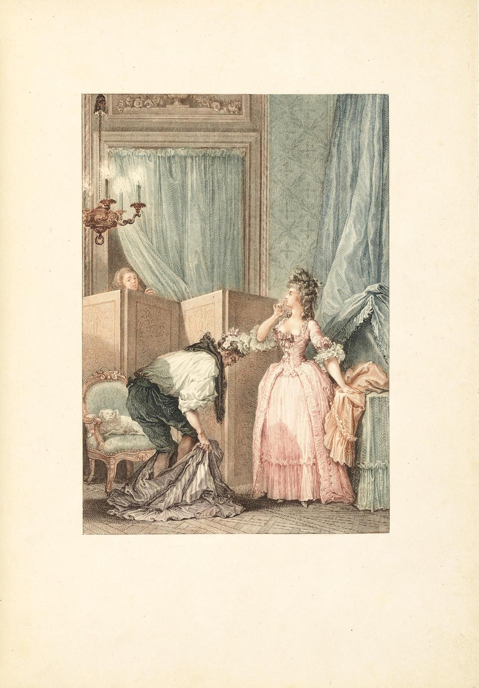 LA FONTAINE, JEAN DE. 1621-1695. Contes et nouvelles en vers. Paris: Pierre Didot l'Aîné', An III [1795].