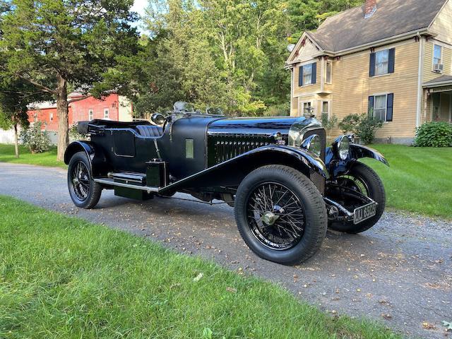 <b>1929 Bentley 4&#189; Liter Tourer  </b><br />Chassis no. PL3477 <br />Engine no. PL3476<br />Body no. 1672 (ex-FS 3607, see catalog)