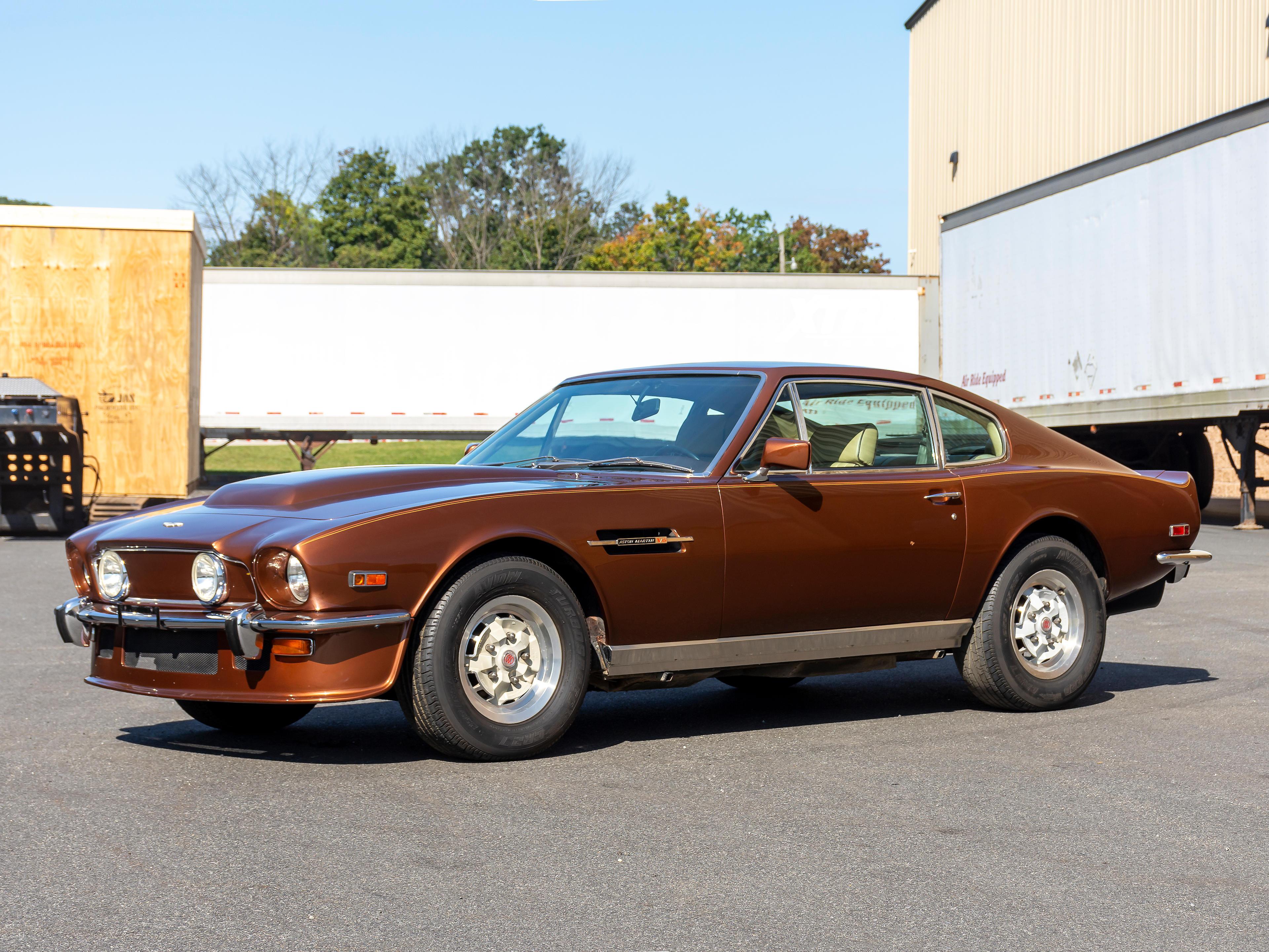 1978 Aston Martin V8 Vantage 'Molded Fliptail' Coupe  Chassis no. V8/11929/LCAV Engine no. V/540/1929/LFA