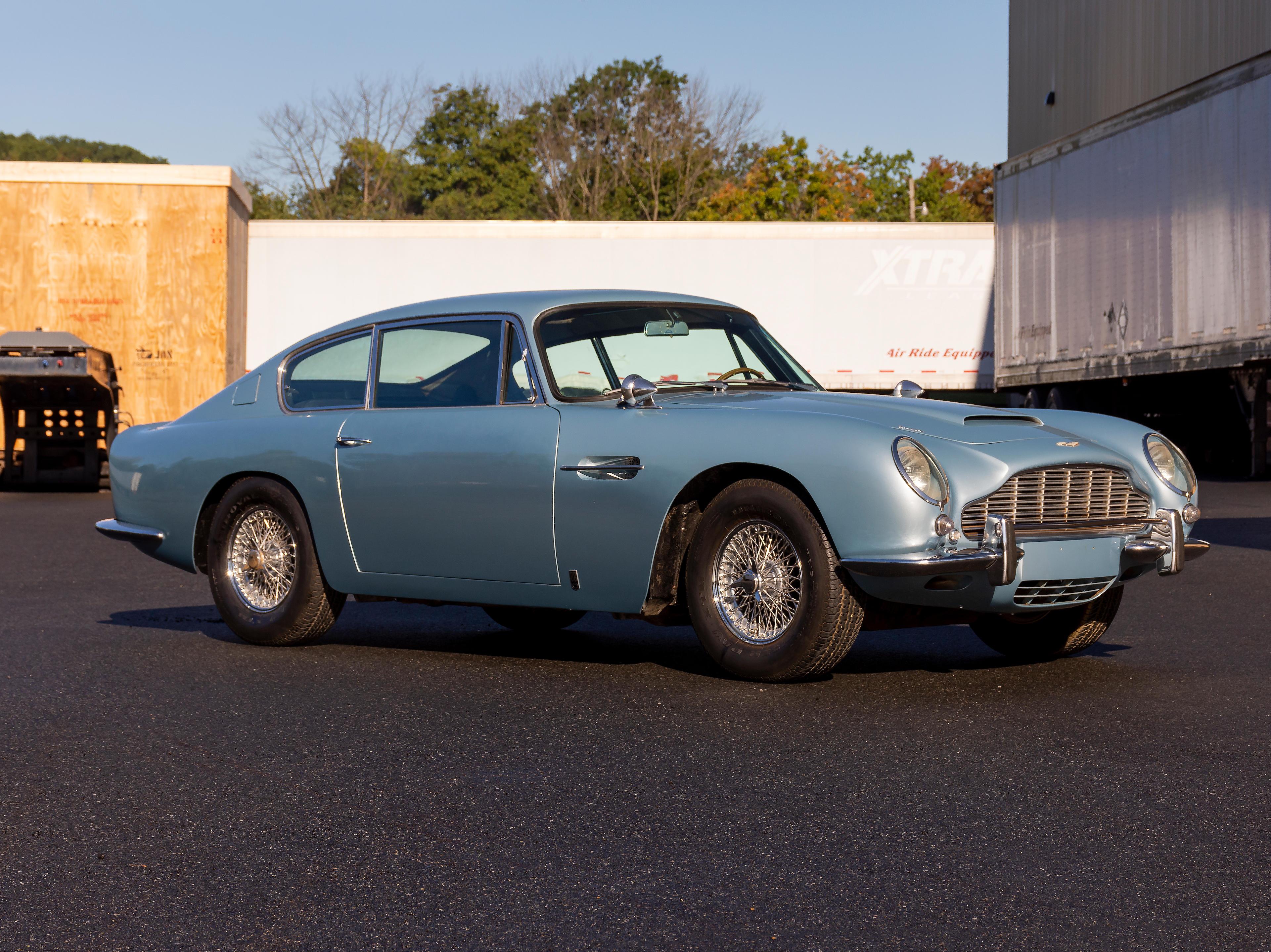 1966 Aston Martin DB6 Saloon  Chassis no. DB6/2631/LN Engine no. 400/2536