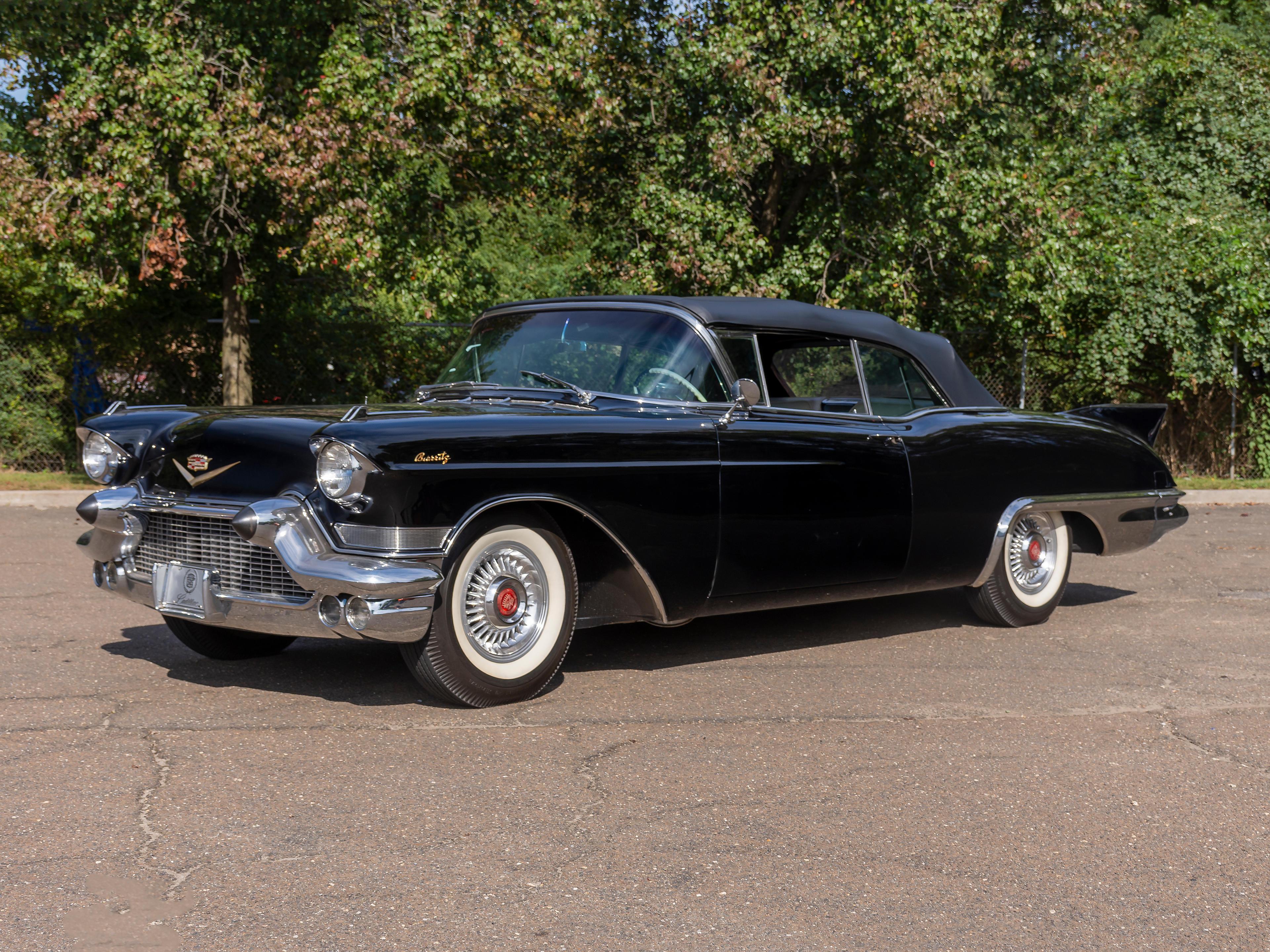 1957 Cadillac Eldorado Biarritz Convertible   Chassis no. 5762066646